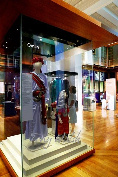 Omani Clothing in the British Museum