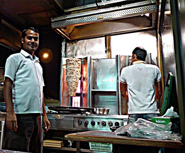 Shawarma Sandwiches Oman