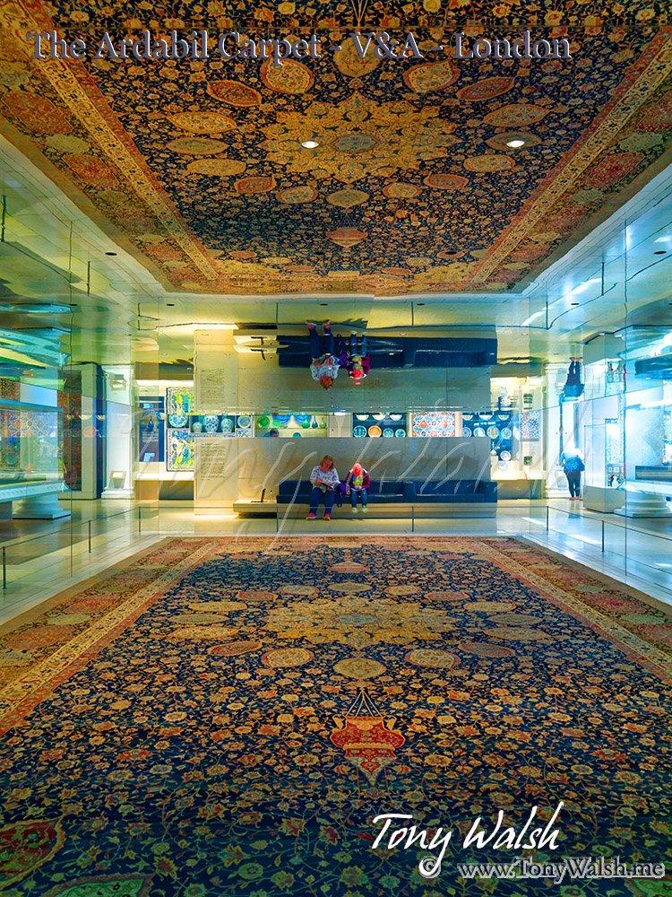 The Ardabil Carpet - V&A - London