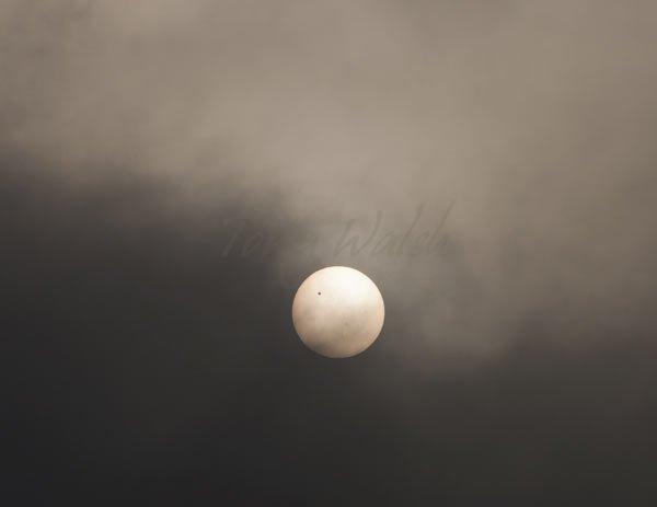 Transit of Venus from Oman