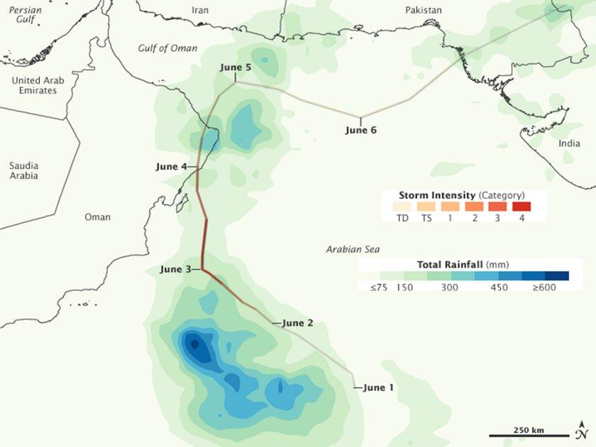 Cyclone Phet Track
