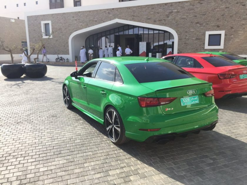 Audi arrives at Anantara Al Baleed