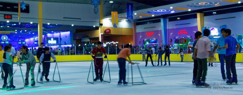 Ice Skating Oman