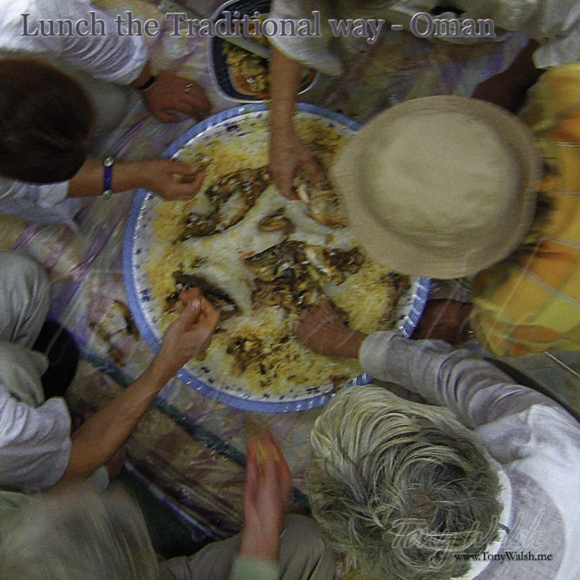 Traditional Oman Meal for our Tourists
