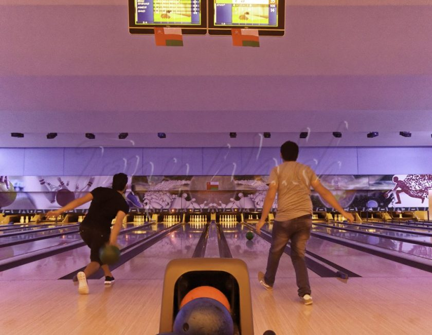 Bowling at Fun Zone - Muscat