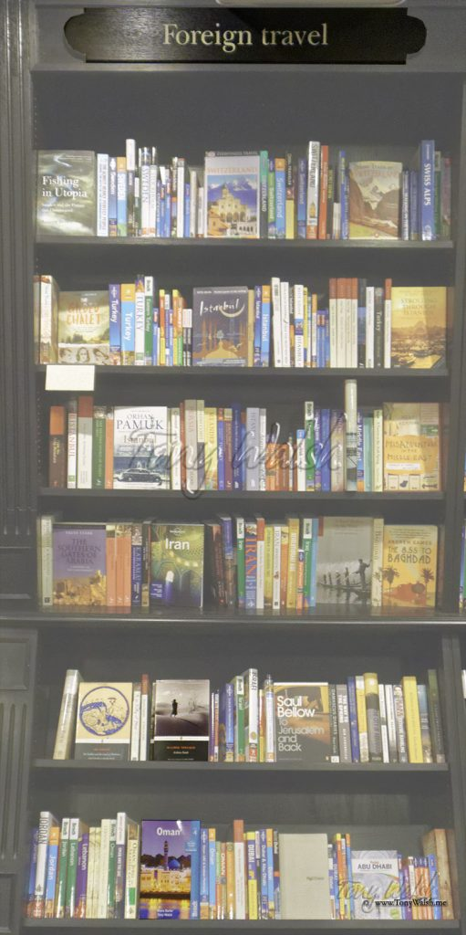 Bradt Guide in Hatchards
