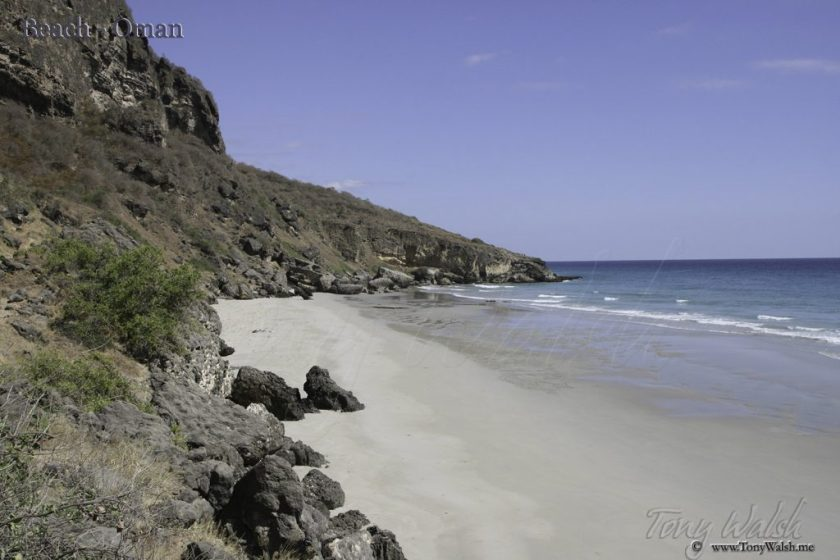 Beach - Oman 10 reasons to visit muscat this winter
