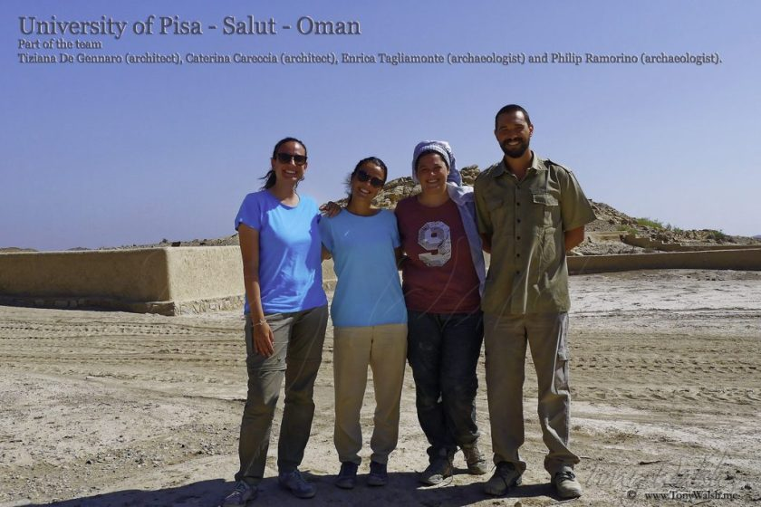 University-of-Pisa-Salut-Oman-Part-of-the-team-Tiziana-De-Gennaro-architect-Caterina-Careccia-architect-Enrica-Tagliamonte-archaeologist-and-Philip-Ramorino-archaeologist.