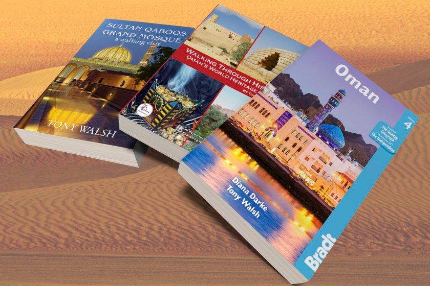 Tony Walsh Books Oman and Arabia