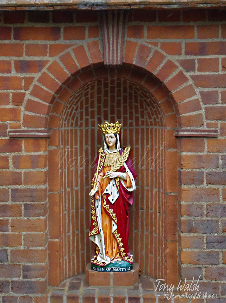 Statue - Exterior Anglican Shrine Walsingham