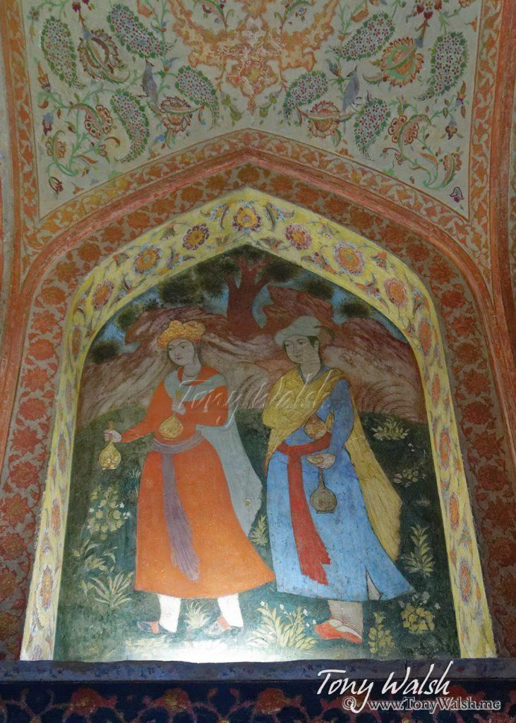 Isfahan Chehel Sotoun Interior