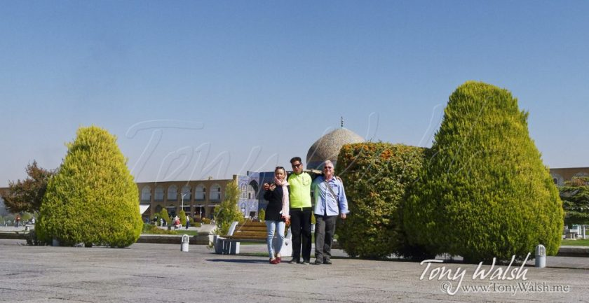 Tony Walsh Isfahan