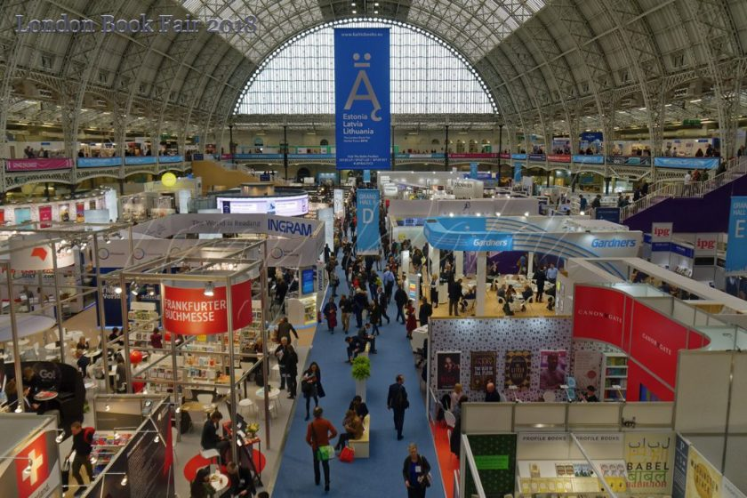Olympia London Book Fair 2018