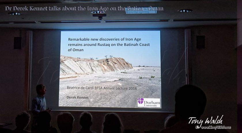 Dr Derek Kennet BFSA Talk Archaeology in Oman