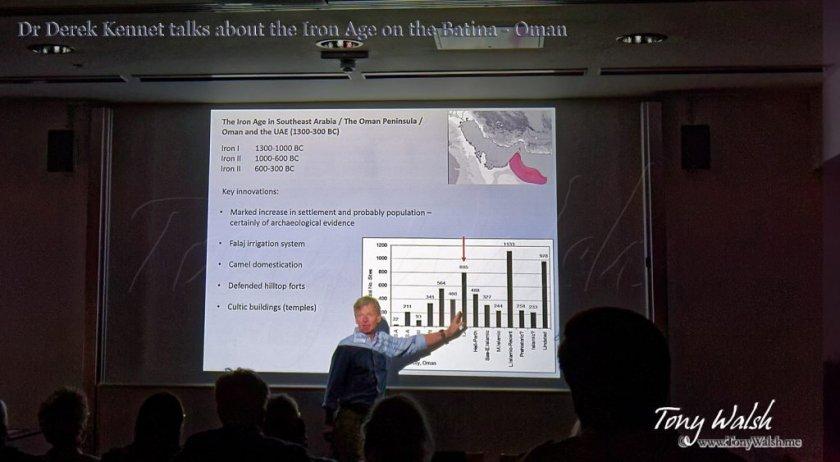 Dr Derek Kennet BFSA Talk Iron Age Archaeology in Oman