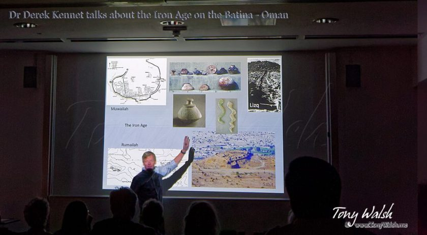 Dr Derek Kennet BFSA Talk Iron Age Archaeology in Oman