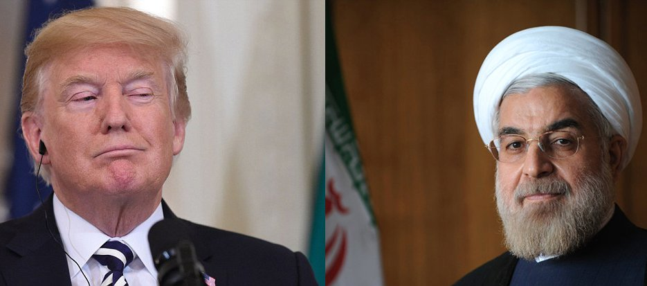 Donald Trump and Hassan Rouhani, the Iranian President, might meet