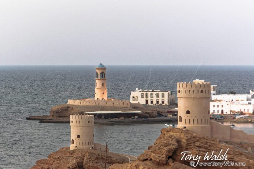 Lighthouse and Al Ayjah - Sur