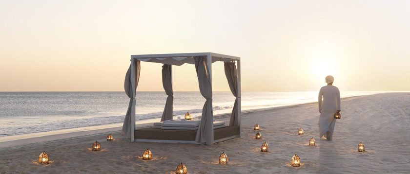 Dining by Design on the beach