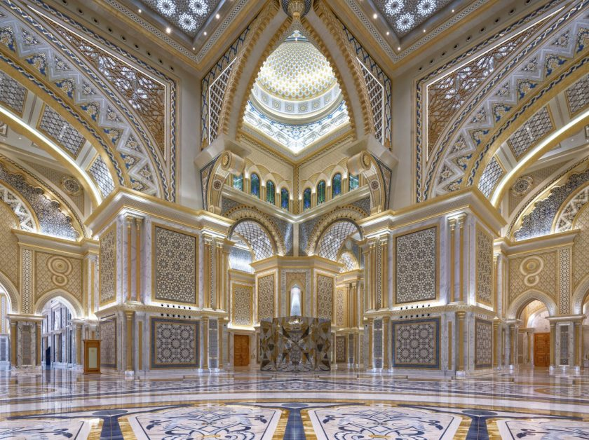 The Great Hall courtesy Ministry of Presidential Affairs UAE