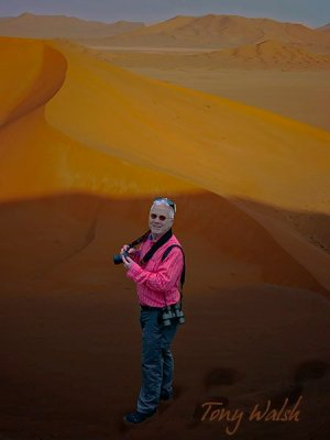 Tony Walsh in Desert