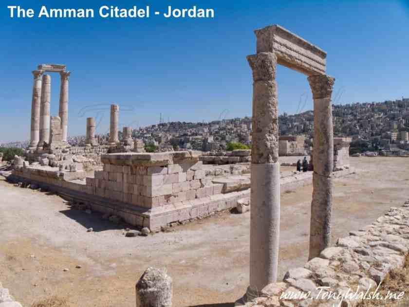 Amman Citadel overlooking Amman