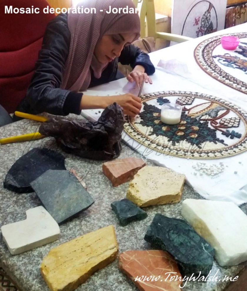 Mosaic decoration - Jordan