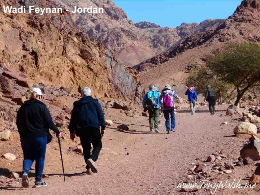 Wadi Feynan trek