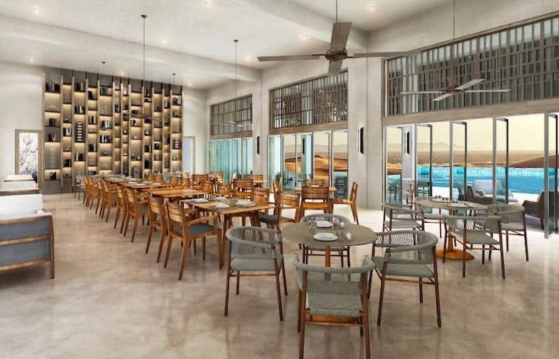 Alila Hinu Bay Seasalt Restaurant