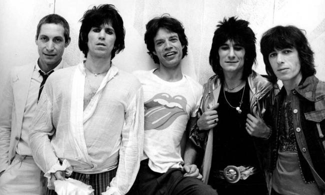 Los Rolling Stones circa 1975