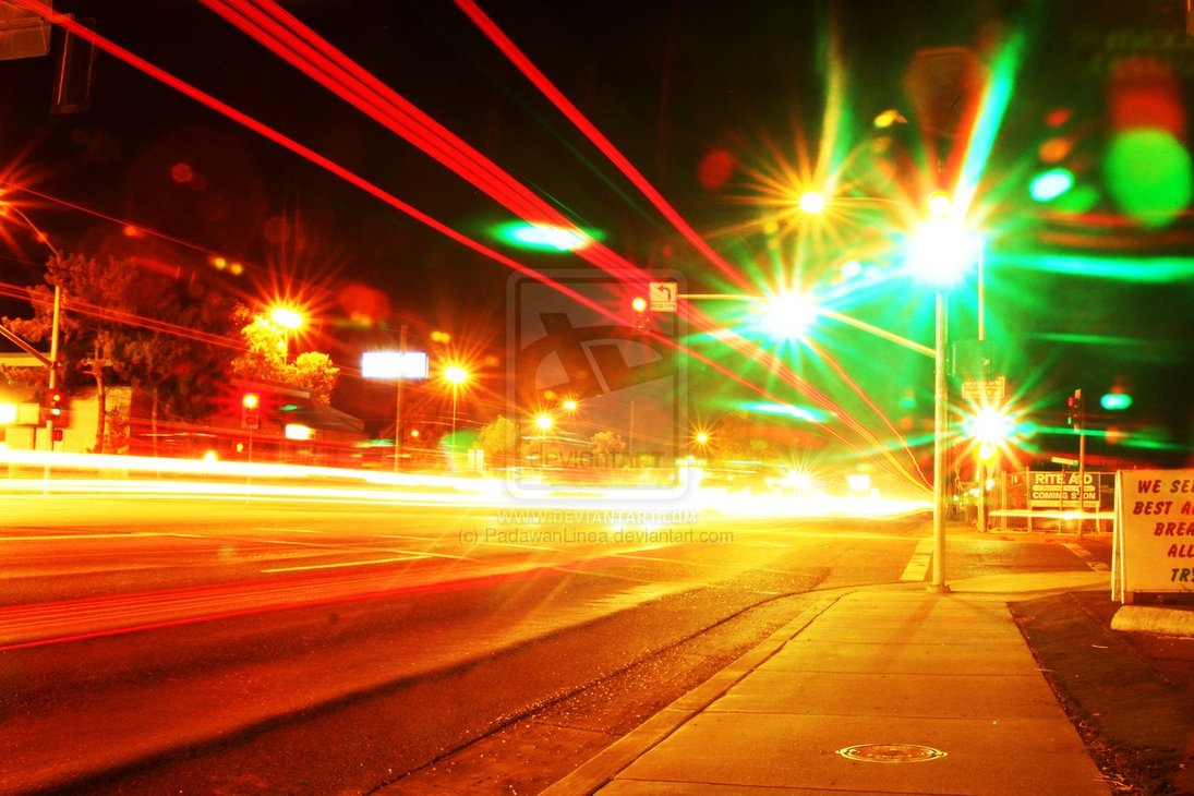 Modern Photography City Lights