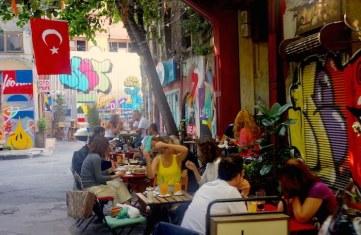 Une rue de Karaköy.