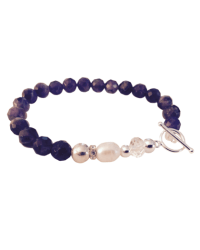 Classic Amethyst Bracelet with Clasp final