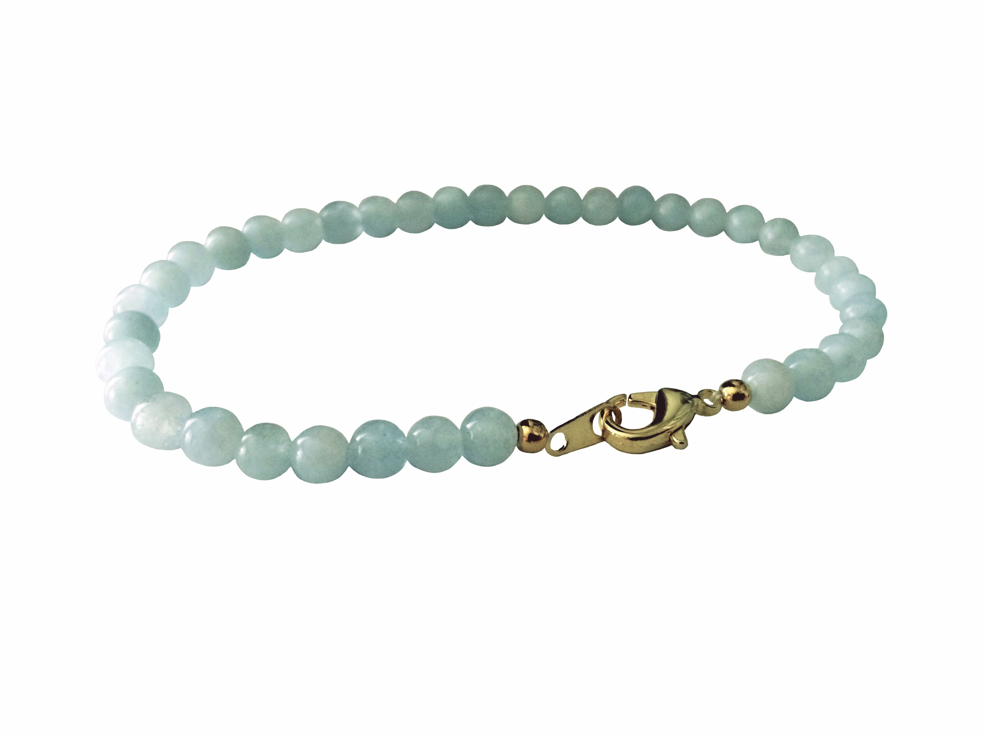black brook shop of march birthstone bracelet product swarovski aquamarine