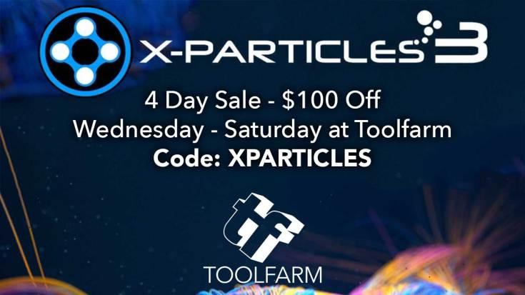 X-Particles Sale