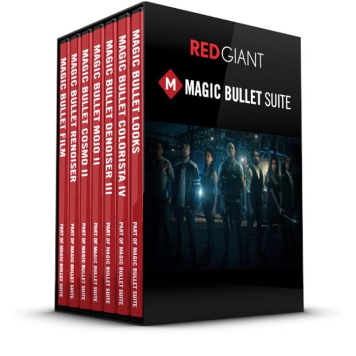 Red giant magic bullet suite box shot