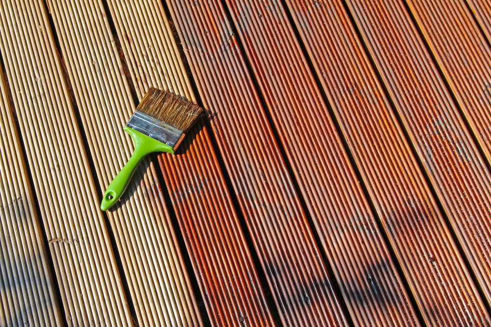 How To Refinish A Deck