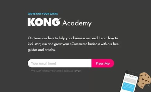 Free eCommerce software to easily build a hosted online store - Kong (1)