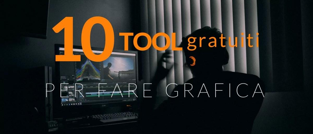 10 tool gratuiti per fare grafica