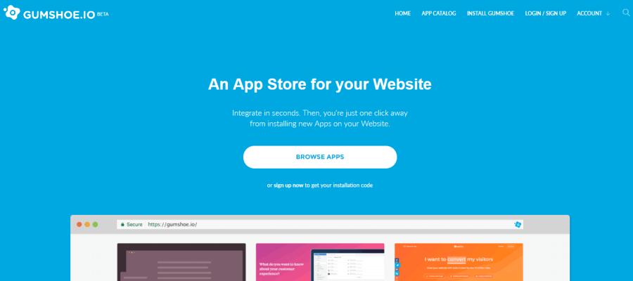 Gumshoe app sul sito