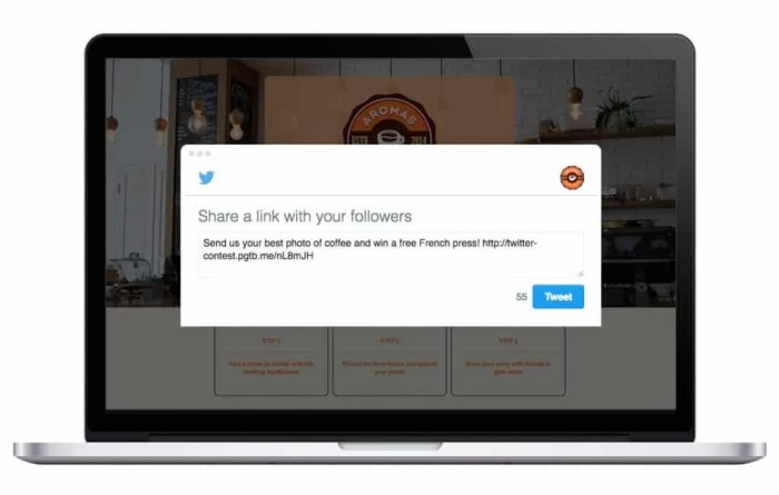 ShortStack twitter contest