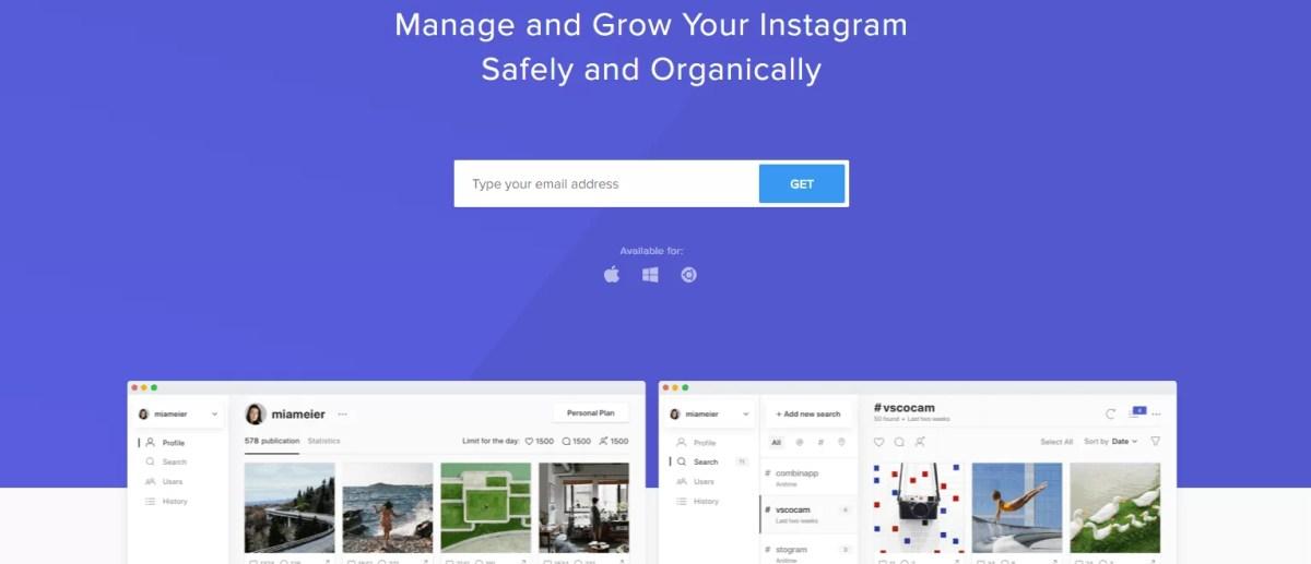 Fai crescere il tuo account Instagram in modo organico, Combin