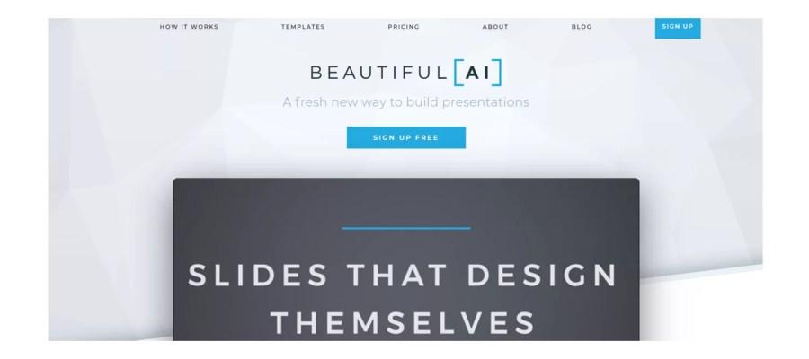 beautifulai presentazioni efficaci