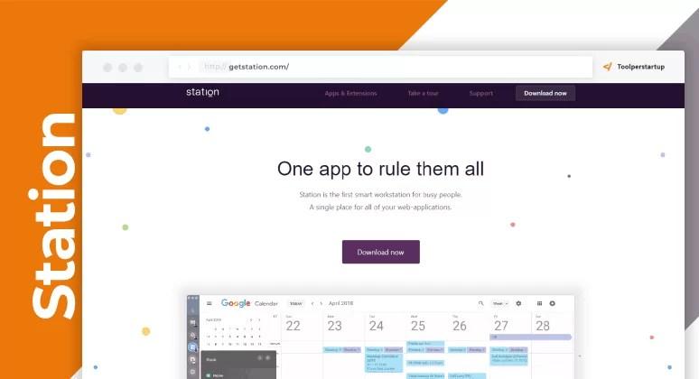 Station gestire web app
