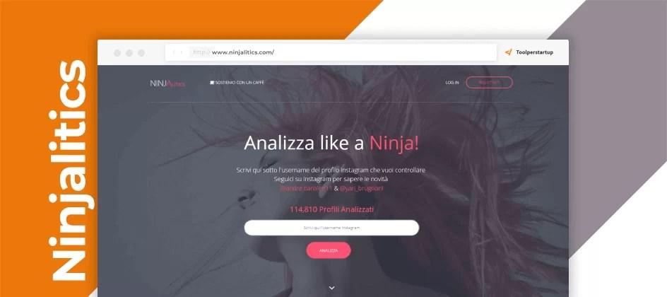 Analytics free per Instagram, Ninjalitics