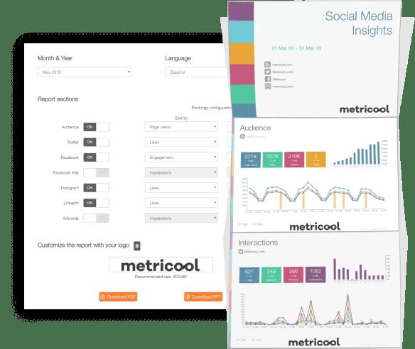 Metricool report