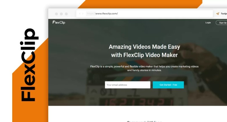 FlexClip crea video