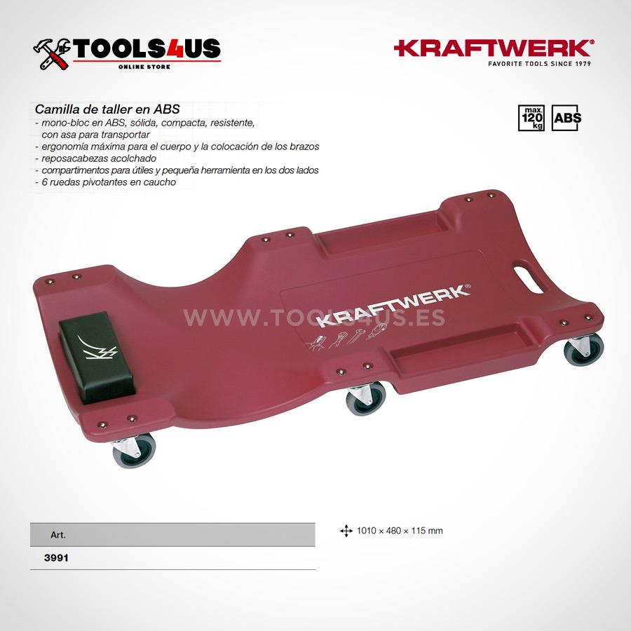 3991 kraftwerk tools camilla ergonomica taller garage 03 - Camilla Ergonómica plástica ABS