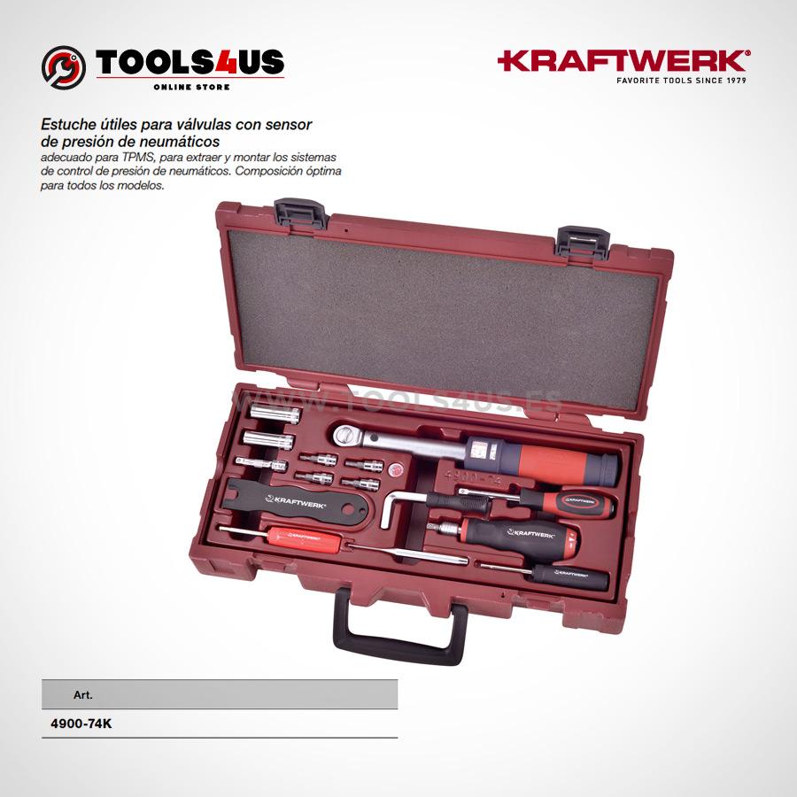 4900 74K KRAFTWERK herramientas taller barcelona espana Estuche utiles para valvulas con sensor presion de neumaticos TPMS 01 - Estuche útiles para válvulas con sensor de presión de neumáticos (TPMS)