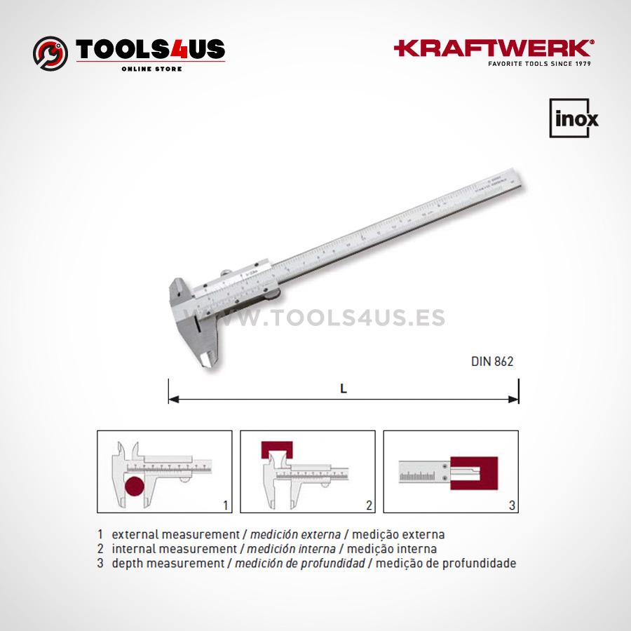 9070 kraftwerk calibre pie de rey medicion exacta inox 02  - Calibre / Pie de Rey Kraftwerk Inox